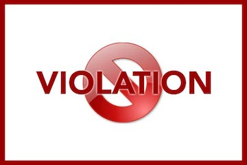 violation-of-rules